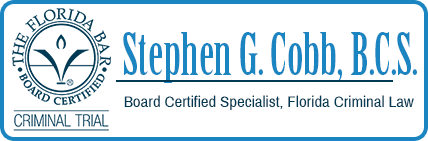 Stephen G. Cobb - Florida Criminal Defense Lawyer
