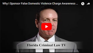 Misconception About False Domestic Violence Charge