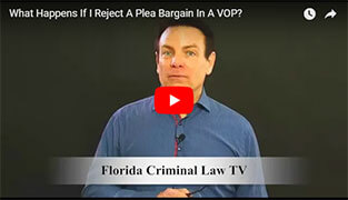 Plea Bargain In A VOP