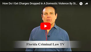 Charges Dropped In A Domestic Violence