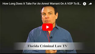 Arrest Warrant On A VOP