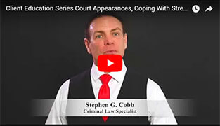 Stress During Criminal Prosecution